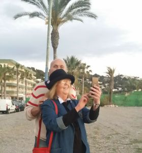 On the costa del sol March 2016